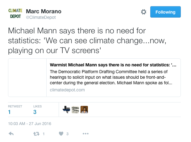 Mann Morano tweet