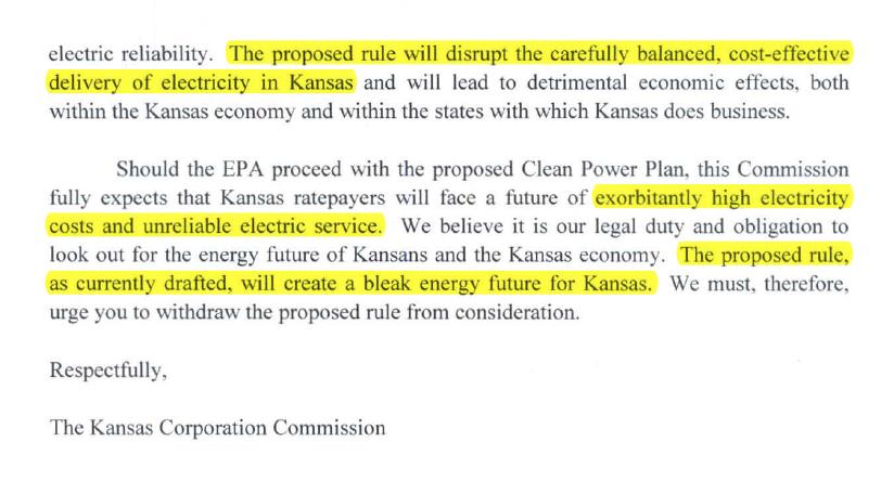 Kansas to EPA clip