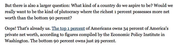 Kristof 1 percent otherize