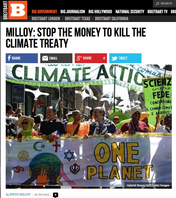 Breitbart Stop the MOney