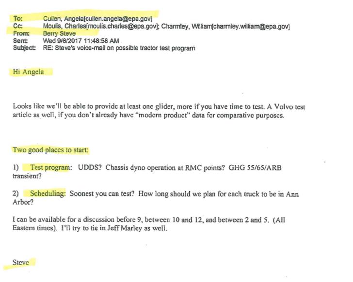 EXPOSED: E-mails reveal Volvo Trucks, (Obama leftover) EPA