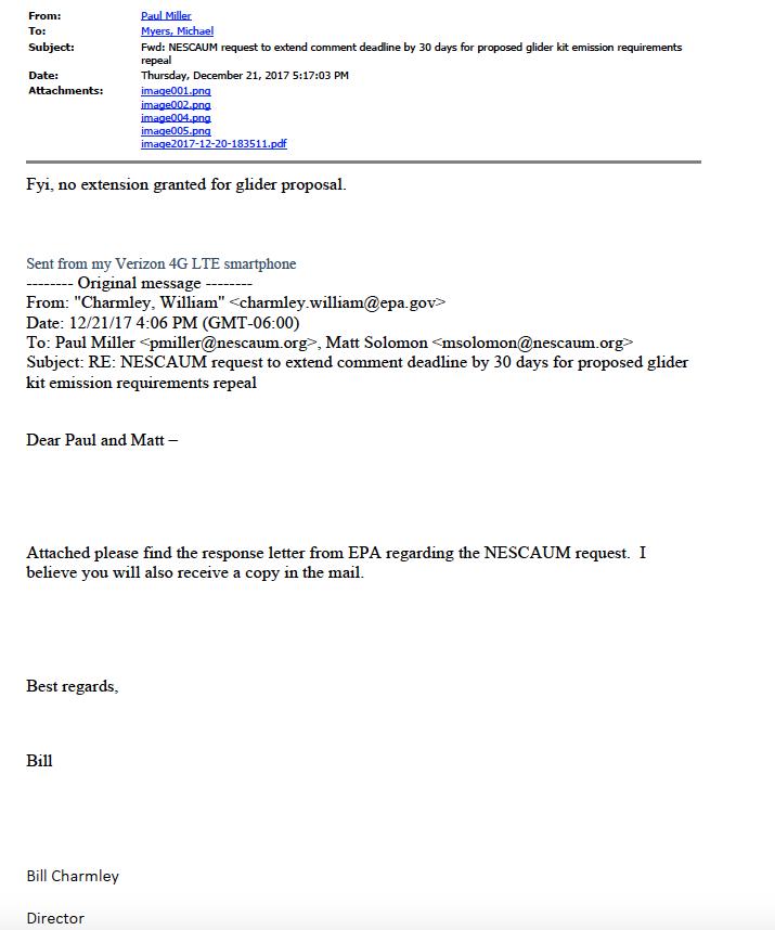 Revealed: NESCAUM does bidding of enviro group in glider